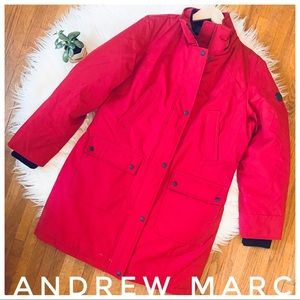 ANDREW MARC winter coat cert. -15 degrees so warm